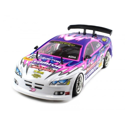 Electric Full Function 1:10 CT Speed Racing Tri-Color Coupe 10+MPH RTR RC Car (Colors May Vary)
