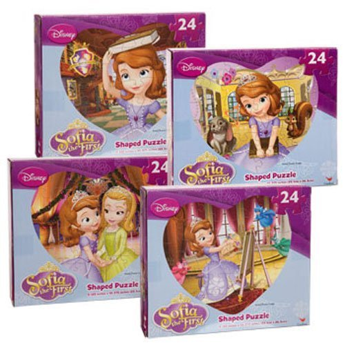 Disney Sofia the First Heart Shaped Puzzle, 24-pc.