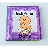 Baby Shower Book Toddler Kids Floating Bathing Toy Funny Baby Waterproof Early Education Learning Book English Words Book Activity Books