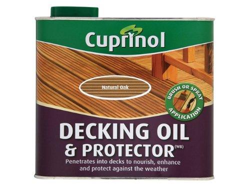 Decking Oil & Protector Natural Oak 2.5 Litre