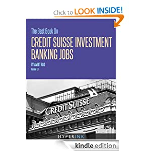 The Best Book on Investment Banking Careers - amazon.com