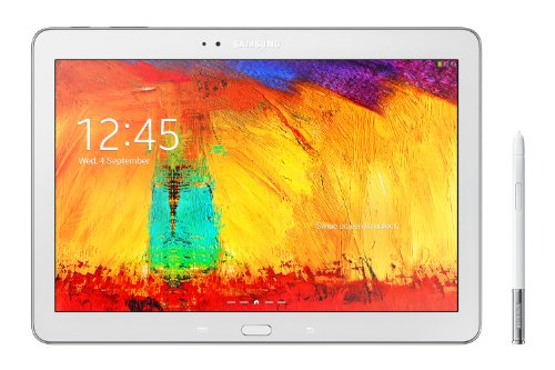 Samsung Galaxy Note 10.1 Versione 2014 Tablet (25,7 cm / 10,1 pollici) Toucshcreen, 3GB RAM, 16GB Memoria Interna, 8 Megapixel Camera, WiFi, Android 4.3, colore: Bianco [Italia]