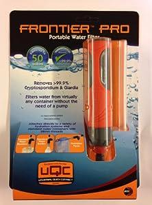 Aquamira Frontier Pro Ultralight Water Filter by McNett