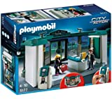 PLAYMOBIL 5177 - Bank with ATM 5177 (Watch out! The bank was hit by bad guys! The ATM works! ... )