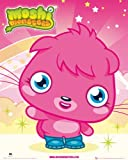 Children's Mini Poster featuring an Adorable Poppet from Moshi Monsters 40x50cm