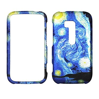 2D Blue Design Nokia Lumia 822 Verizon Case Cover Hard Phone Case Snap-on Cover Rubberized Touch Faceplates by wirelesspulse