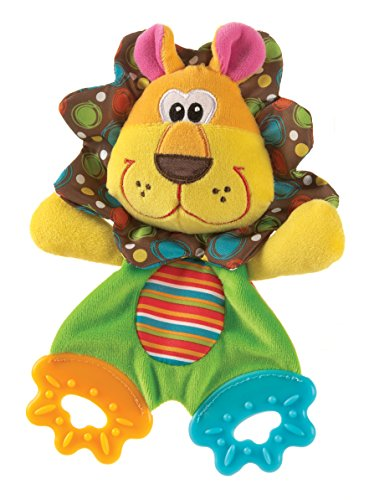 Playgro Roary the Lion Teething Blankie for Baby - 1