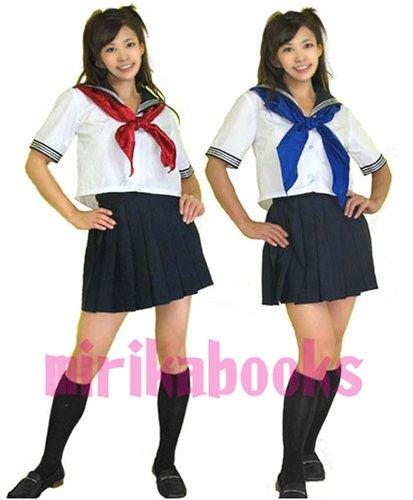 半袖 セーラー服 Mサイズ コスプレ衣装 mb007-2