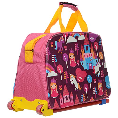 Blesss Me Creations Blesss Me Creations Leather Kids Trolley Bag