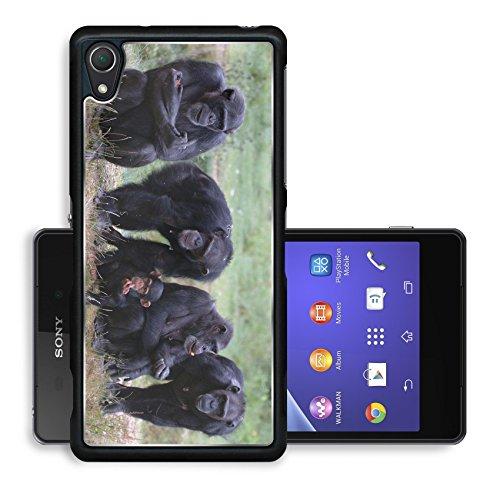 Luxlady Premium Sony Xperia Z2 Aluminium Snap Case When Monkey s Go Bad IMAGE ID 221188