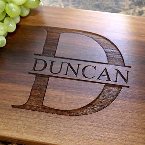 Amazon Wedding Gift Ideas: Amazon.com: Name Personalized Engraved Cutting Board