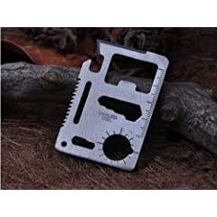 1 Piece Multi-Function Credit Card Survival Knife Camping Tool by elegantstunning