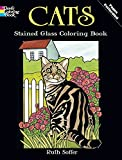 Cats Stained Glass Coloring Book (Dover Coloring Books)