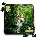 Danita Delimont - Travel - Travel, Aventuras del Sarapiqui, Costa Rica - SA22 KSC0142 - Kevin Schafer - 10x10 Inch Puzzle (pzl_87219_2)