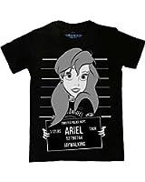 Twisted Punk Disney Alternative Ariel Little Mermaid Mug Shot emo T shirt Top