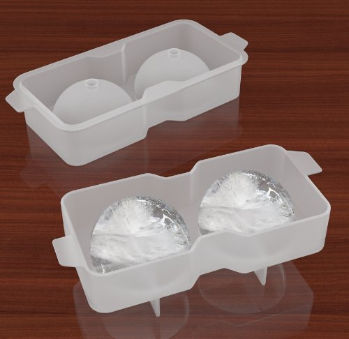 Silicone Ice Cube Molds Tray Sphere Ice Ball Maker Frozen Whiskey Cocktail Drink