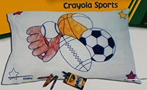 Create Your Own Pillowcase - Crayola Sports