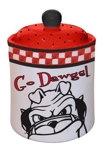 Georgia Bulldogs Gameday Ceramic Cookie Jar