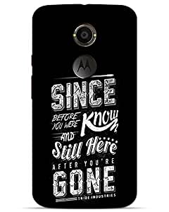 Hugo Motorola X2 Back Cover Hard Case Printed