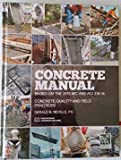 img - for Concrete Manual: Based on the 2015 IBC and ACI 318-14 book / textbook / text book