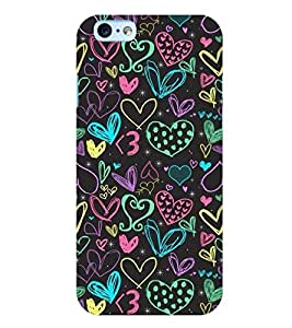Apple iPhone 6S PLUS MULTICOLOR PRINTED BACK COVER FROM GADGET LOOKS