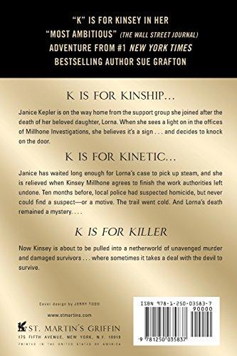 K Is for Killer (Kinsey Millhone Mystery)