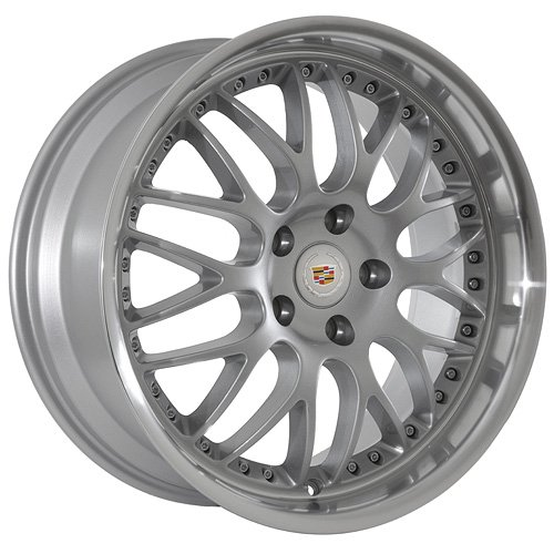 19 Cadillac Wheels Rims Silver  Polished Lip