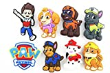 8pcs Puppy Power! (Paw Patrol)shoe Charms Fits Jibbitz Croc Shoes & Wristband Bracelet