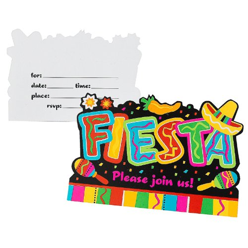 Fiesta Postcard Invitation - 1