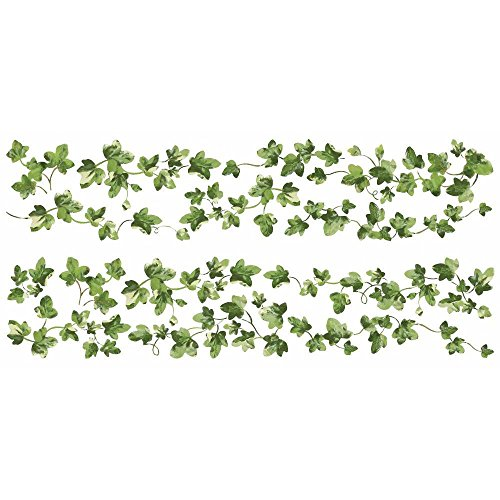 RoomMates RMK2409SCS Painterly Ivy Peel and Stick Wall Decals, 1-Pack - 1