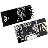 2pcs nRF24L01+ 2.4GHz Wireless Transceiver Arduino Compatible