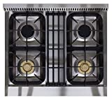 AGA-APRO30AGSS-30-Professional-Gas-Range-with-RapidBake-Convection-Stainless-Steel