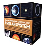 img - for The Photographic Card Deck of the Solar System: 158 Cards Featuring Stories, Scientific Data, and Big Beautiful Photographs of All the Planets, Moons, and Other Heavenly Bodies That Orbit Our Sun book / textbook / text book