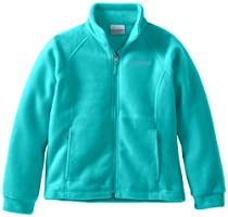 Columbia Girls 7-16 Benton Springs Fleece Outerwear Jacket, Geyser, Medium