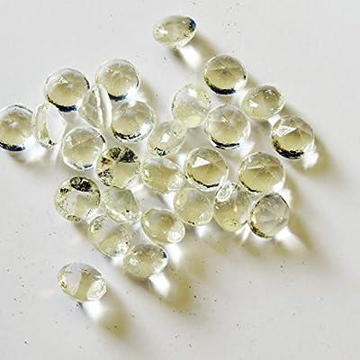 28 Stück Zucker Diamanten 50 Karat - groß - Essbare Dekoration von Madavanilla auf Gewürze Shop
