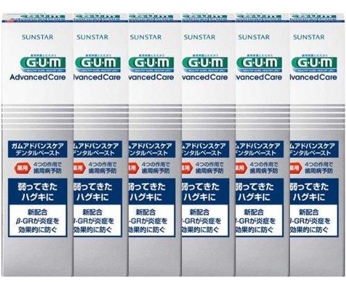 GUM(ガム) アドバンスケア デンタルペースト 90g (医薬部外品) × 6個セット