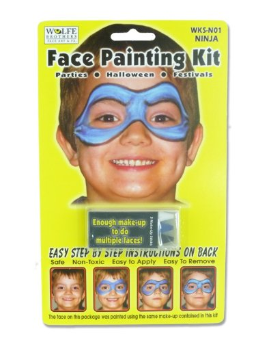 Ninja Face Painting Kit