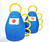 カシローラ 日本 サッカー 青 ブルー  カシロラ2個組