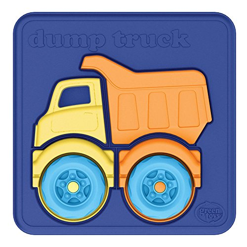 Green Toys Dump Truck Puzzle (4 Piece)