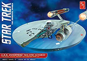 AMT Ertl AMT USA 1/537 Scale USS Enterprise Cutaway Plastic Model Kit