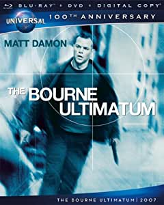 The Bourne Ultimatum    [Blu-ray + DVD] (Bilingual)