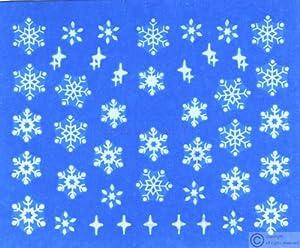 Snowflake Water Nail Art Decal / Tattoo / Sticker