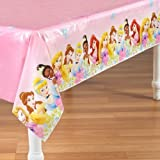 Disney Fanciful Princess Plastic Tablecover Party Accessory