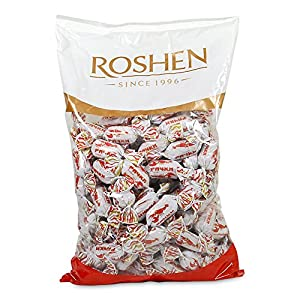 Roshen Gourmet Crawfish Tails Caramel Candy, 2.2 lbs/ 1 kg
