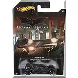 ホットウィール 2015 バットマン シリーズ #3/6 バットマン ビギンズ バットモービル Walmart限定 [並行輸入品]