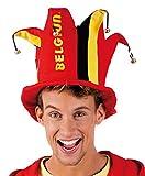 Boland 61600 - Erwachsenenhut Belgium, Einheitsgröߟe, mehrfarbig