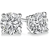 PARIKHS Round Diamond stud Popular Quality in White Gold & Yellow Gold