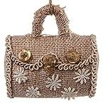 Burlap Handbag Ornament