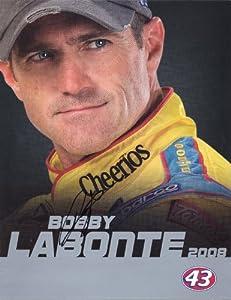 2008 Bobby Labonte #43 Cheerios NASCAR Autographed Hero Driver Card