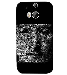 PRINTSWAG TYPOGRAPHY Designer Back Cover Case for HTC ONE M8